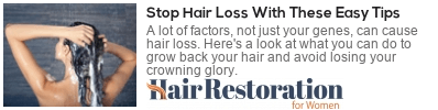 things to avoid that cause hair loss