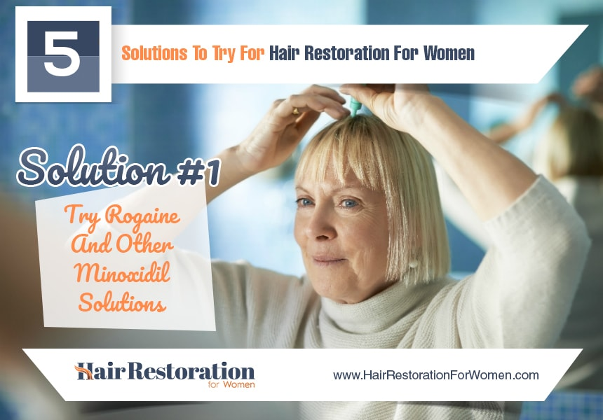 start a new health regimen to reduce hair loss