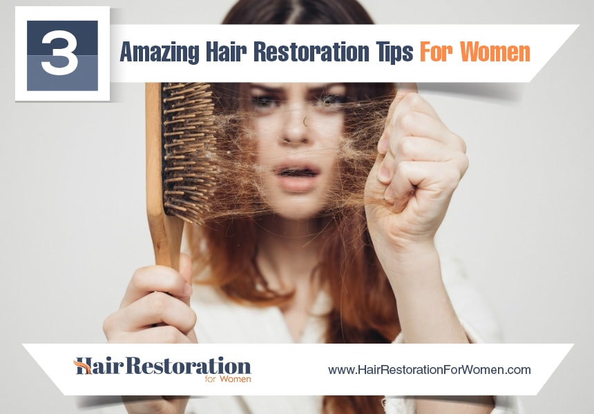 adequate rest to reduce hair loss